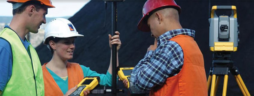 A group of Surveyors working together